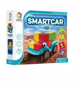 GRA LOGICZNA SMART CAR 5x5 AUTO SMART GAMES